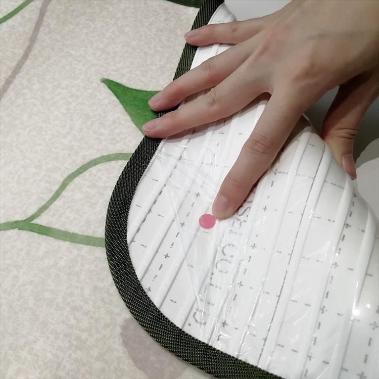キッチンには拭けるマット/45×270cm/縁付きクッションフロア/リーフ/日本製/防滑|lucentmart-interior|16