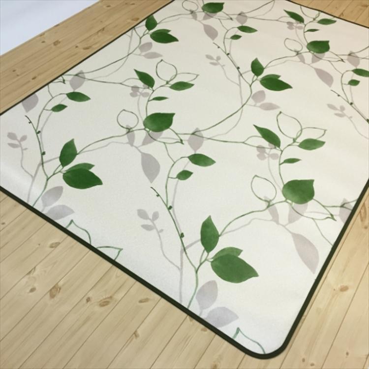 キッチンには拭けるマット/45×270cm/縁付きクッションフロア/リーフ/日本製/防滑|lucentmart-interior|10