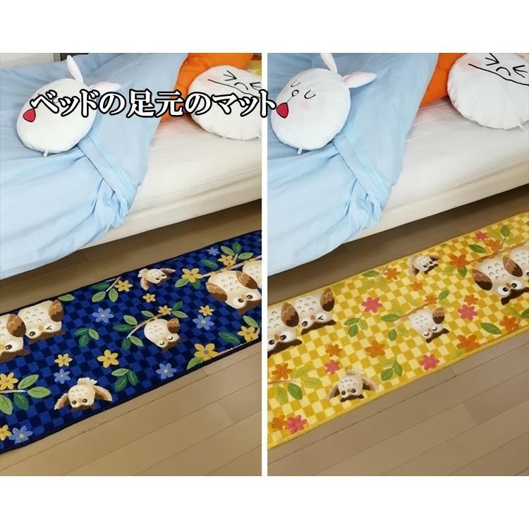 キッチンマット/45×180cm/洗える 洗濯機OK/ふくろう/防滑/日本製/2色|lucentmart-interior|10
