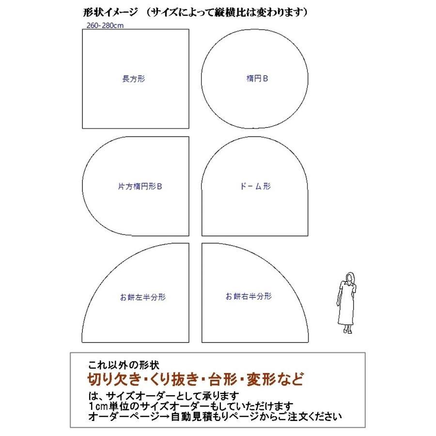 カーペット ラグマット/東リ/セグエ/260×280cm 長方形 楕円 他/4色/住宅用/日本製|lucentmart-interior|03