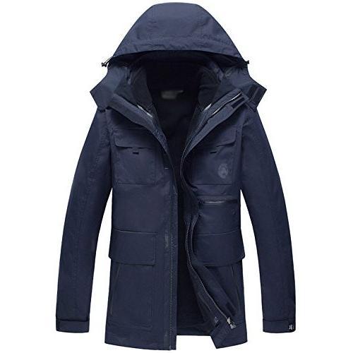 上質品 メンズ AFS JEEP マウンテンパーカー アウトドア パーカ パーカ パーカ シャケット 防寒 シャケット 裏起毛 ジャケット 登山服 スキーウ dfd