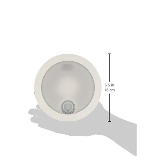 東芝ライテック LED一体形アウトドア 軒下シーリングライト ON/OFFセンサー付 昼白色 60W ピュアホワイト