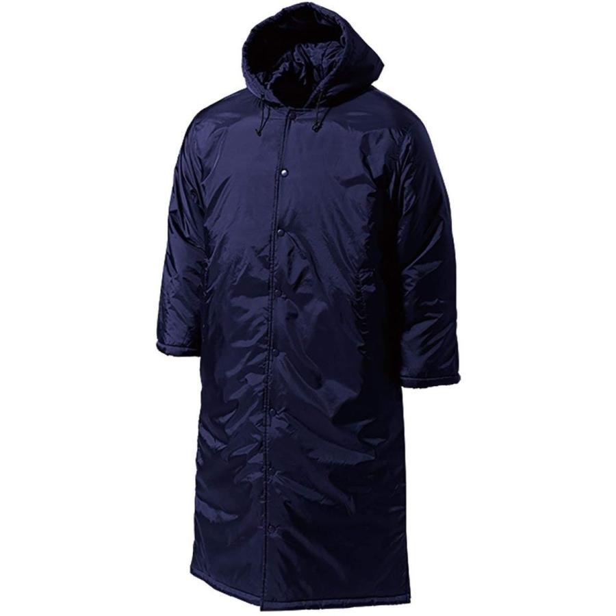 wundou(ウンドウ) 旧フロリダウインドロング 中綿 コート 撥水性 保温性 ネイビー P6990-01 ネイビー XL