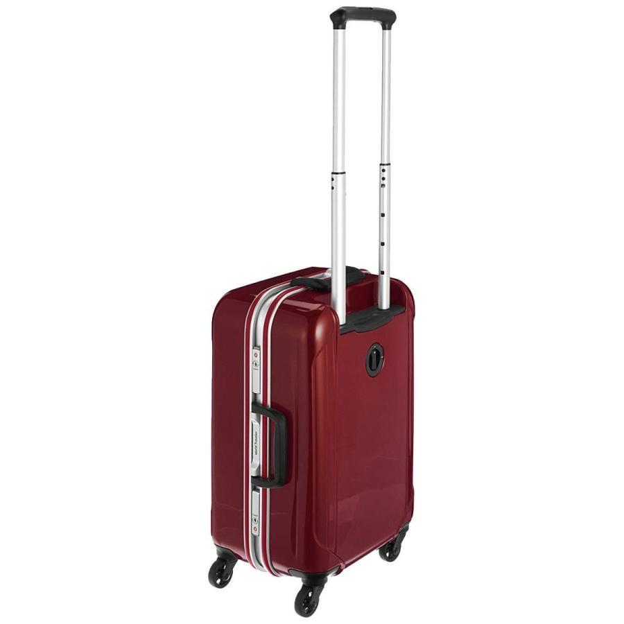 ワールドトラベラー スーツケース サグレス 31L ストッパー付 TSAロック 機内持込100席以上対応 機内持込可 31L 48cm 3.