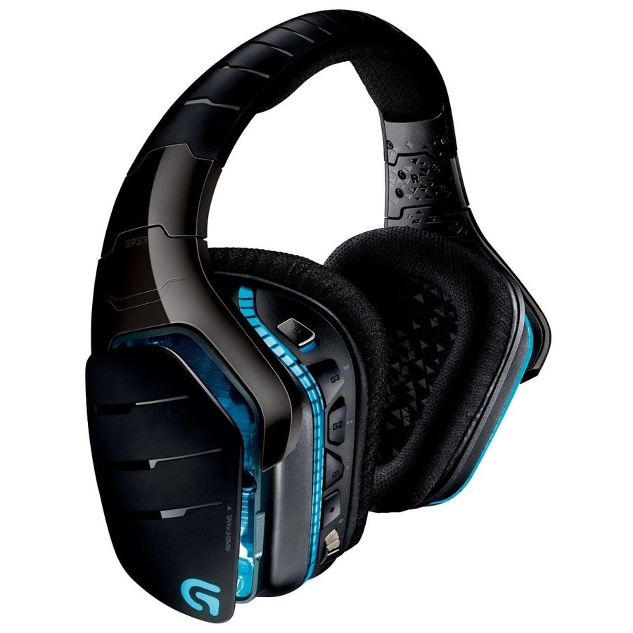 Logitech G933 Artemis Spectrum Wireless 7.1 Surround Gaming Headset (9