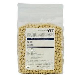国産(山形県) 里のほほえみ(大豆) 1kg チャック付