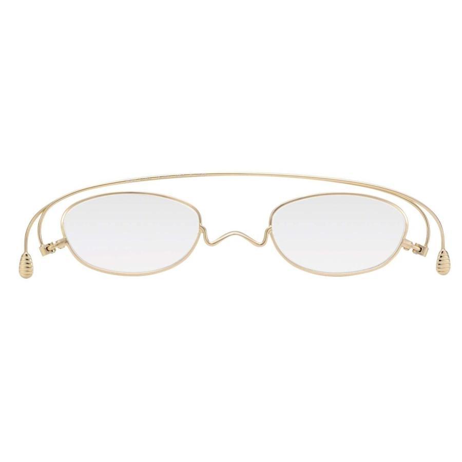 最安値に挑戦! 薄さ2mmの老眼鏡ペーパーグラス「オーバル」携帯用付属ケース付き。 ゴールド) (+2.5, (+2.5, ゴールド), 会津高田町:7c7807ae --- airmodconsu.dominiotemporario.com