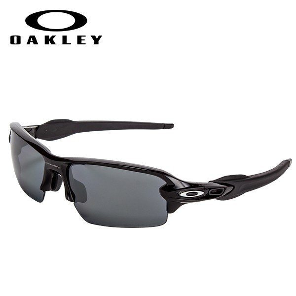 オークリー Oakley スポーツ サングラス FLAK 2.0 フラック2.0 アジアンフィット 偏光レンズ 9271-07 ポリッシュド 軽量 丈夫 ミラー