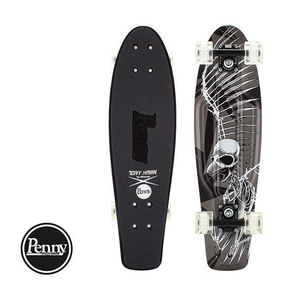 ペニー スケートボード Penny Skateboards スケボー 27インチ トニーホーク フルスカル リミテッド エディション PNYCOMP27394 黒
