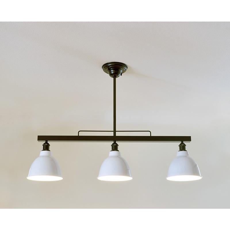 インダストリアルライト スチール製3灯ペンダントライト SSL001BK-138(ランプ別売)|luciva|02