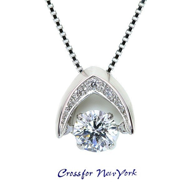 新しいエルメス Dancing Stone クロスフォー 一番人気 ダイヤモンド 0.418カラット F I1 VG ネックレス PT 正規品/白・透明(ホワイト)/セレクトジュエリー・新品/届10/, ワイン蔵 まるほん ca35cf35