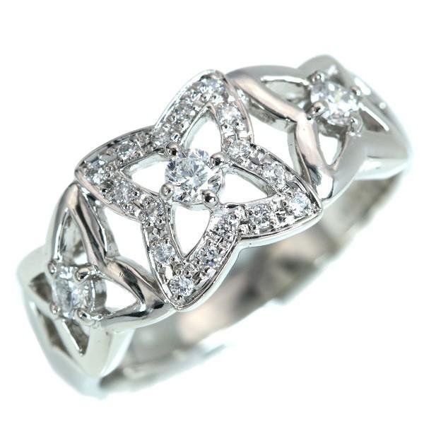 【初売り】 ダイヤモンド リング/指輪 0.31カラット プラチナ900 PT900 程よいボリューム デザイン性豊か /白・透明(ホワイト)//届5/, 未来ネットワーク b96a765c