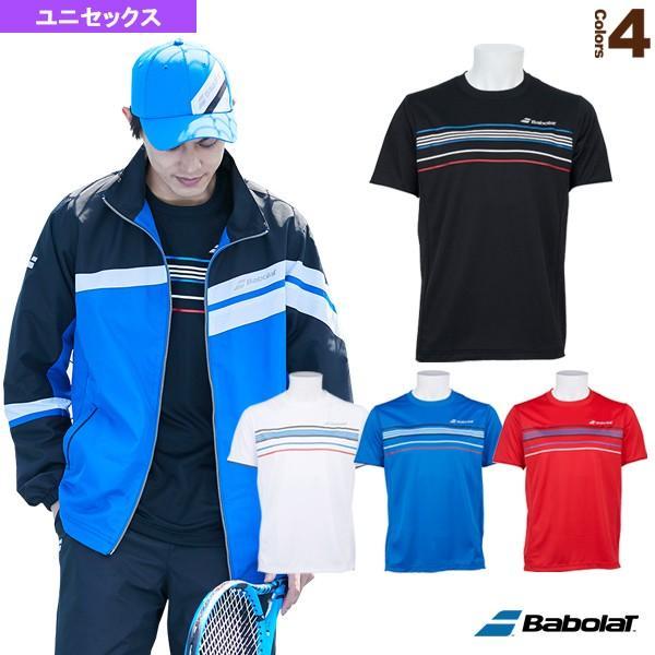 バボラ テニス・バドミントンウェア(メンズ/ユニ) ショートスリーブシャツ/カラープレイライン/ユニセックス(BTUOJA12)