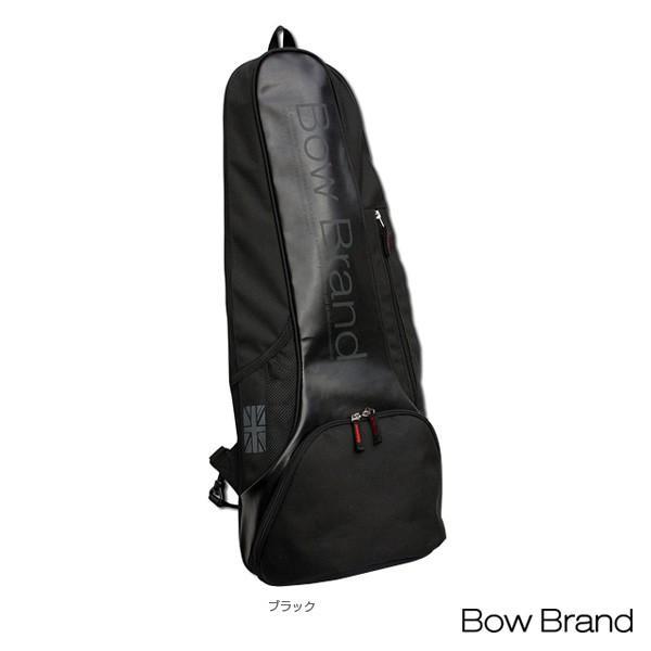 ボウブランド テニスバッグ ラケットバッグ/ラケット2本収納可(BOW-JB1802)
