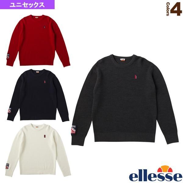 エレッセ ウェア(メンズ/ユニ) ヘリテージ エンブレムニットクルー/Emblem Knit Crew/ユニセックス(EH78300)