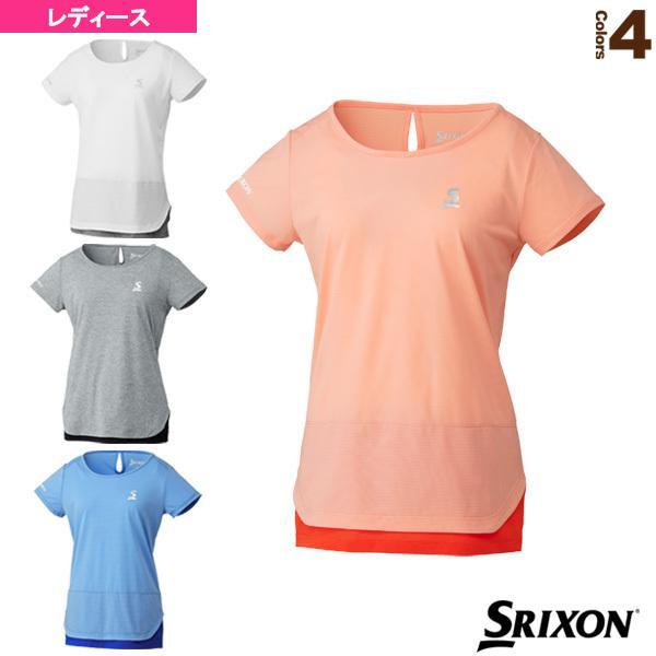 スリクソン テニス・バドミントンウェア(レディース) ゲームシャツ/ツアーライン/レディース(SDP-1921W)