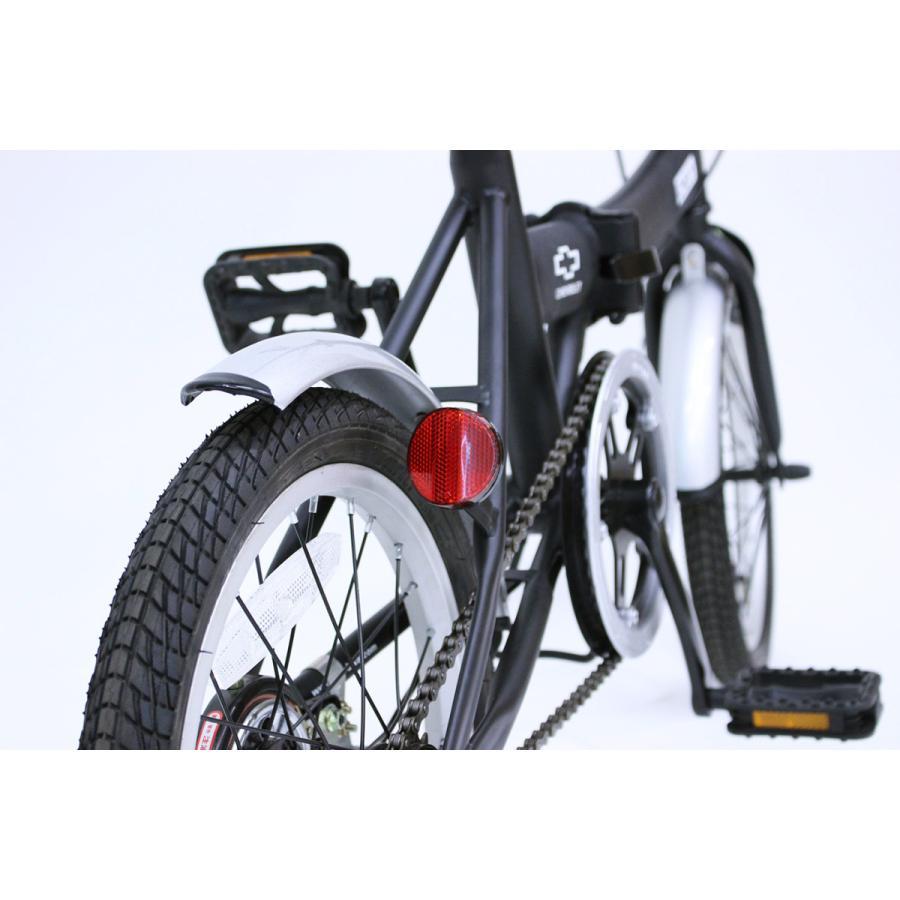 折りたたみ自転車 CHEVROLET シボレー FDB16G ブラック luckykagu 07