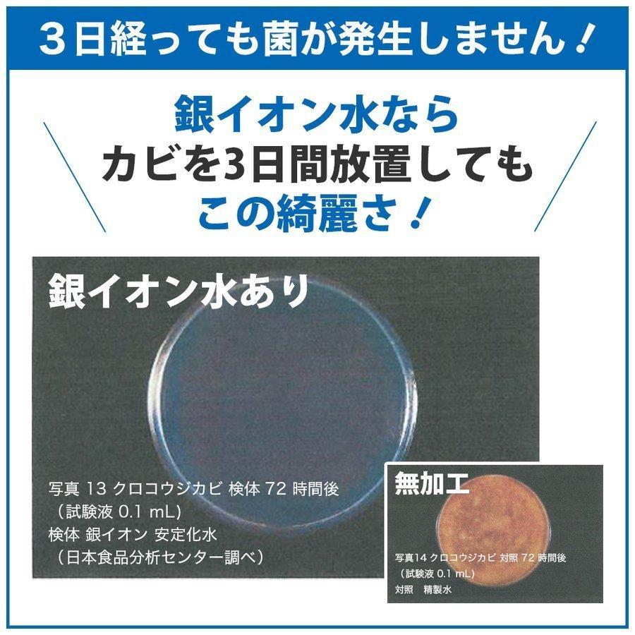 マスクスプレー ECOSAS Ag+ 銀イオン水 100ml×2本組 除菌 抗菌 消臭効果|luckykogei|05