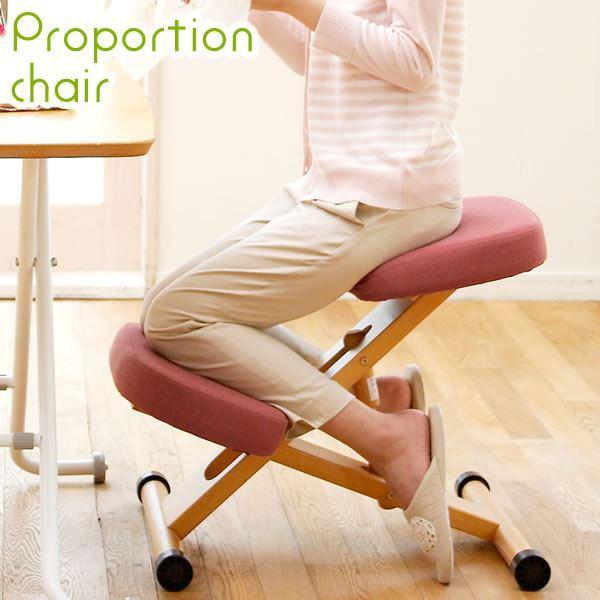 プロポーションチェア/姿勢矯正椅子 プロポーションチェア/姿勢矯正椅子 プロポーションチェア/姿勢矯正椅子 〔ブルー〕 木製 座面高さ調整可/キャスター付き a20