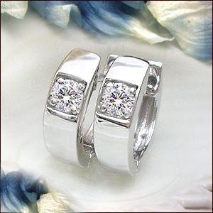 送料無料 K18【0.12ct】一粒ダイヤモンド フープピアス『Le Meiller』[SIクラス]透明感溢れるダイヤモンド, メガLED:47cab626 --- airmodconsu.dominiotemporario.com