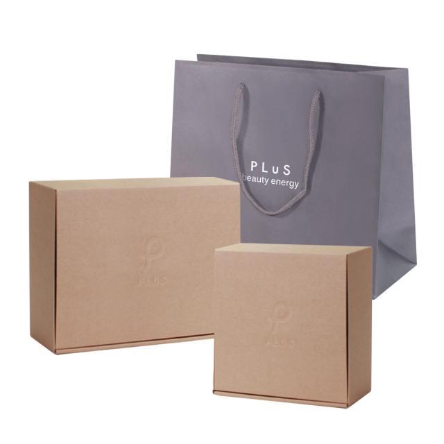 ラッピング 箱 ギフトBOX 紙袋 プリュ オリジナル 新作販売 BOX 送料込 通 ギフトBOXセット クッションペーパー付き ラッピングセット ショッパー
