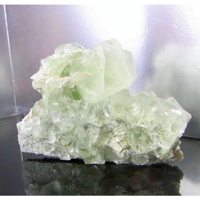 グリーンフローライト 原石 クラスター fluorite 蛍石 フローライト 一点物