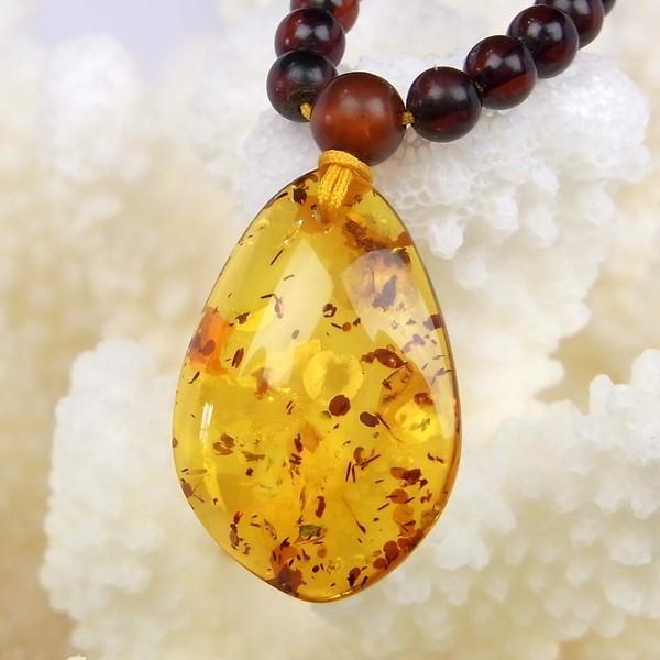 納得できる割引 琥珀 ペンダント ネックレス amber アンバー Pendant 金運, JIMAXBABY 8cc76a85