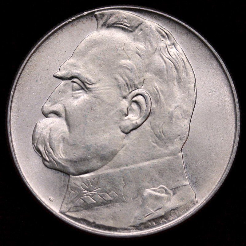 ポーランド 1939年 10ズウォティ アンティーク 大型銀貨
