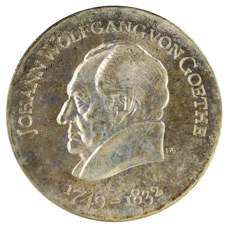 東ドイツ 1969年 ゲーテ生誕220周年記念 20マルク 銀貨