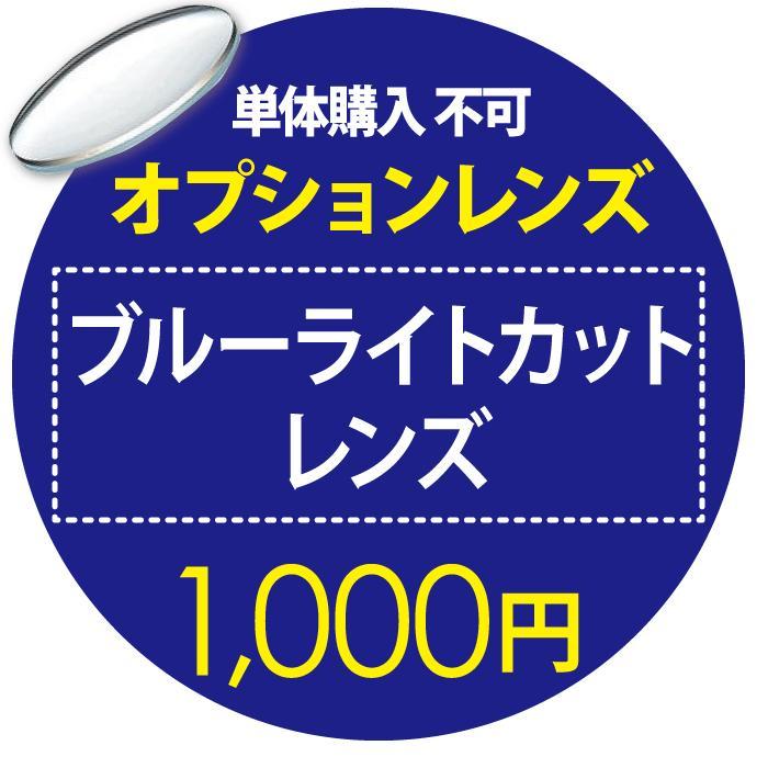 日本正規代理店品 オプションレンズ 高級な ブルーライトカット 1 単品購入不可 000円