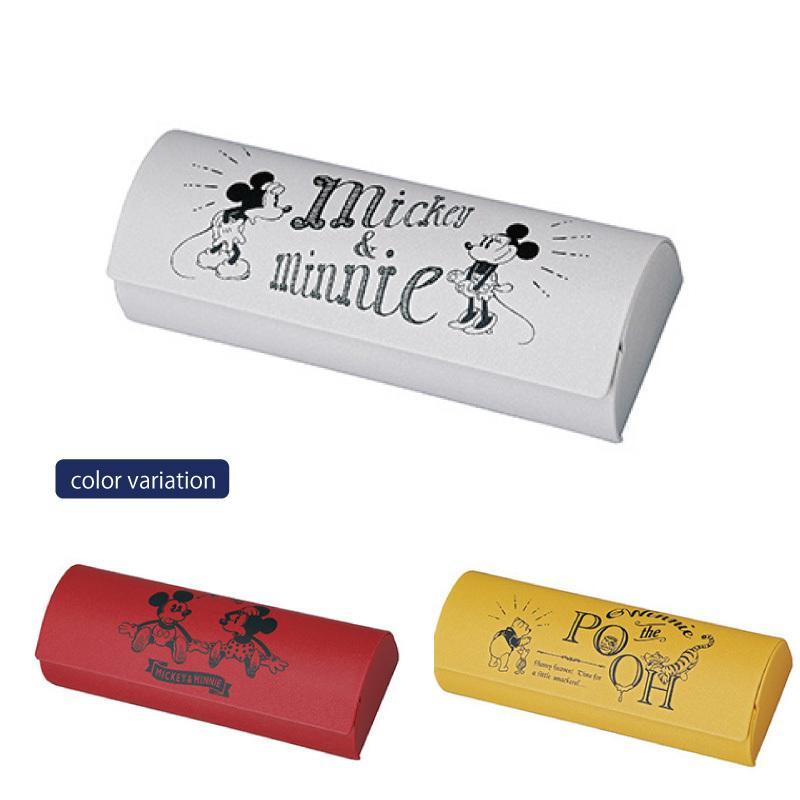 送料無料 パール ディズニー Disney 激安価格と即納で通信販売 高品質 ミッキー ミニー メガネケース 36622 36621 くまのプーさん クロス付 36623