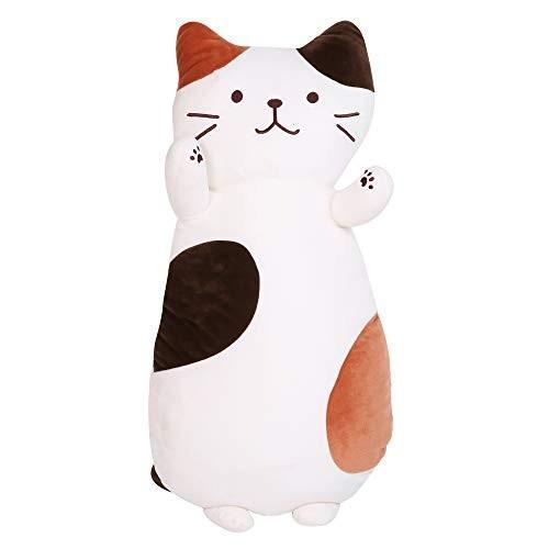 JEMA ジェマ 抱き枕 マシュマロ 猫 添寝枕 クッション ぬいぐるみ もちもち ふわふわ 柔らか 可愛い プレゼント・・・