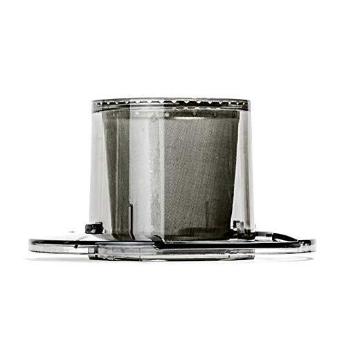 格安店 オーシャンリッチ コーヒードリッパー 自動ドリップ コーヒーメーカー シルバー 全国一律送料無料 UQ-CR8200FILTER 4カップ以下 交換用ドリッパー