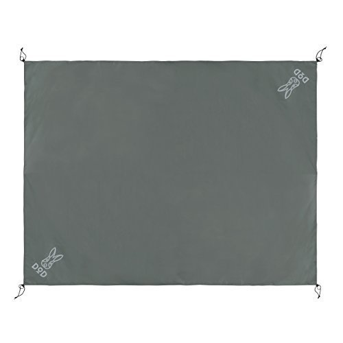 DOD(ディーオーディー) グランドシート(5人用)280cm×220cm GS5-566-GY lupizon