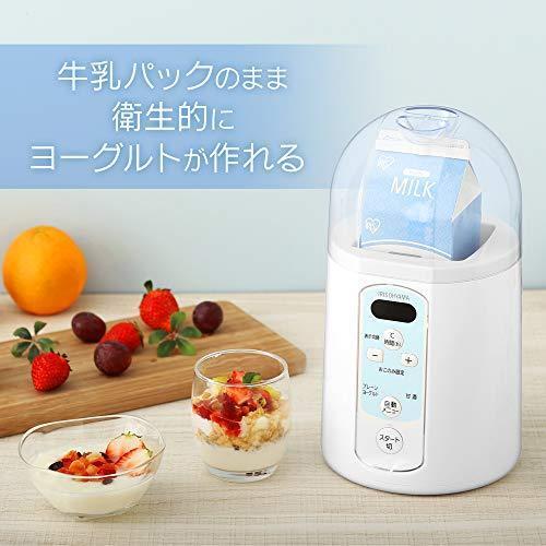 アイリスオーヤマ ヨーグルトメーカー 温度調節機能付き ホワイト IYM-014 lupizon 02