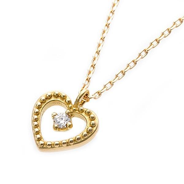 最適な価格 ダイヤモンド ネックレス K18 イエローゴールド ハート&キューピッド H&C Hカラー SIクラス Good ハートモチーフ ペンダント 鑑別カード付き, コマキシ 384b68d1