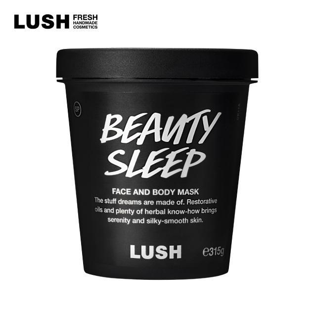 マスク パック 激安☆超特価 ラッシュ 公式 割引も実施中 LUSH 混合肌 ビューティスリープ 敏感肌 315g 乾燥肌