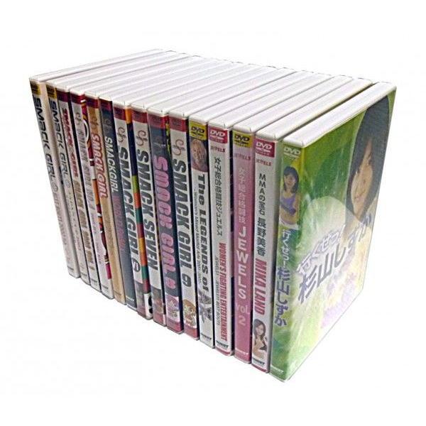 女子格闘技の歴史 DVD 極15種 セット DVD計15枚 [DVDセット]