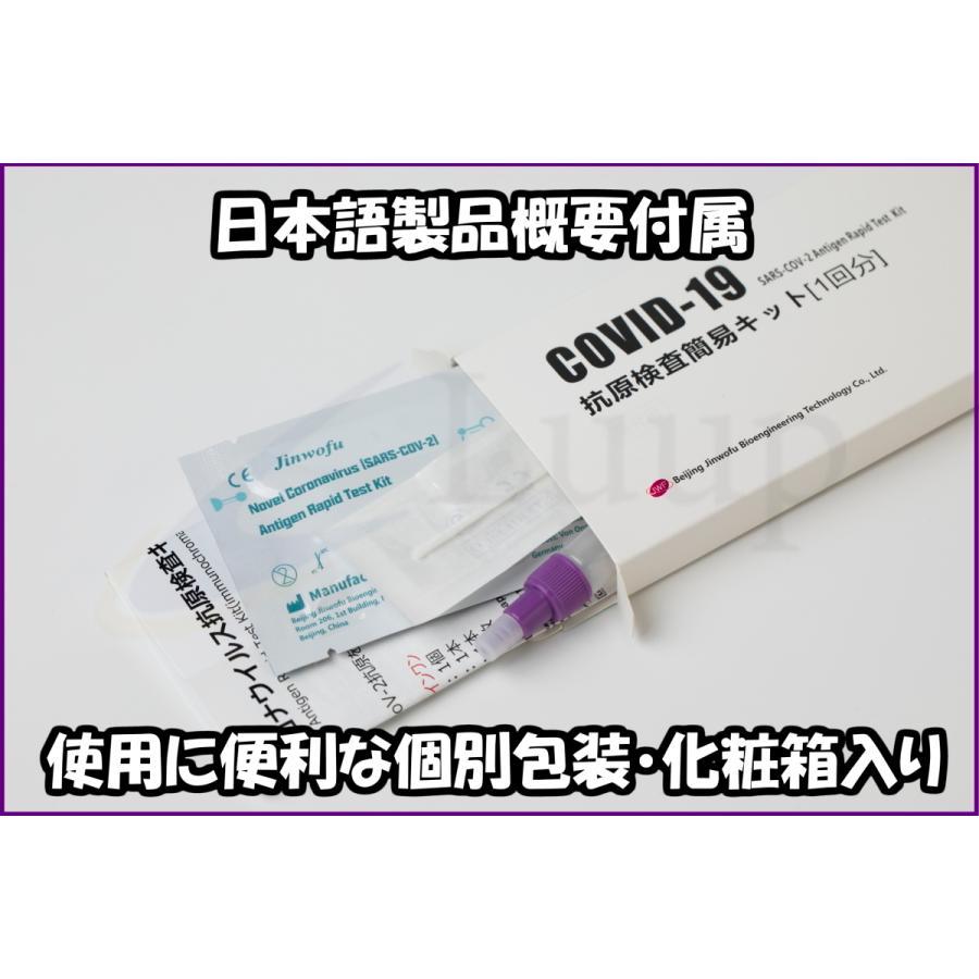 【土日も発送・あすつく無料!デルタ株等対応】コロナウイルス(SARS-CoV-2/COVID-19)抗原検査キット【唾液検査可能・抗体検査/PCR検査との同時使用も◎】|luup|10