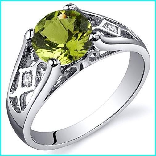 【驚きの価格が実現!】 Peridot Cathedral Ring Size Sterling Cathedral Carats Silver 1.25 Carats Size 7, ワールド雑貨ショップホヌホヌ:da7b5407 --- taxreliefcentral.com