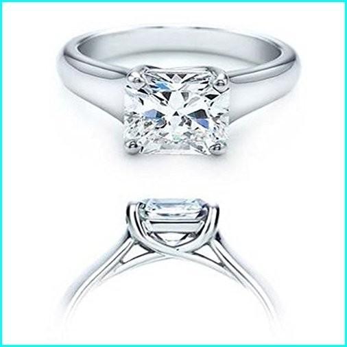 ファッションなデザイン Dazzlingrock CERTIFIED Collection AGS Ladies CERTIFIED 1.00 Carat (ctw) (ctw) 14K Real Princess Diamond Ladies Engagement Solitaire Ring, White Gold, Sevens Field:a018deea --- airmodconsu.dominiotemporario.com