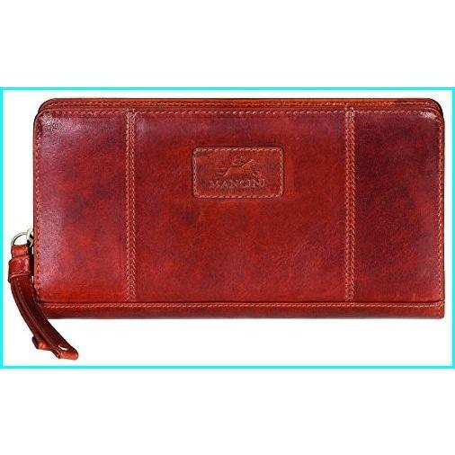 Mancini Leather Goods ACCESSORY レディース US サイズ: One Size カラー: ブラウン【並行輸入品】