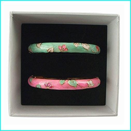 【訳あり】 UJOY Enamel Leaf Flower Couple Flower Bracelets Gold Hinged Green Handmade Leaf Cloisonne Jewelry Bangles for Woman Gift 55B10 Green Pink, マルス 山梨ワイナリー 公式通販:306aea2b --- airmodconsu.dominiotemporario.com