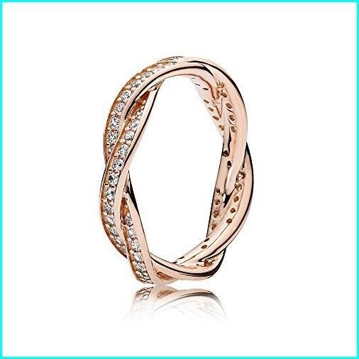 公式の  PANDORA Twist of Fate Rose Gold Size 8.5 8.5 Rose Ring Fate 180892CZ-58, お名前シール製作所:b1ca5e13 --- photoboon-com.access.secure-ssl-servers.biz