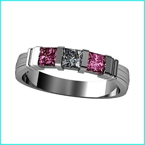 最終値下げ NANA Princess Channel Set Mothers Ring with 1 to 6 Simulated Birthstones - Silver - Size 5.5, 大黒店 e1864de9