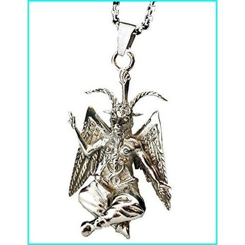 【良好品】 Church of Satan Baphomet Pendant Necklace 316L Stainless, 代官山ワインサロン LeLuxe 52f36c3e