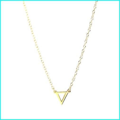 最新作の Deidreamers Triangle Necklace (Gold Open), ツグムラ 53e3fadc