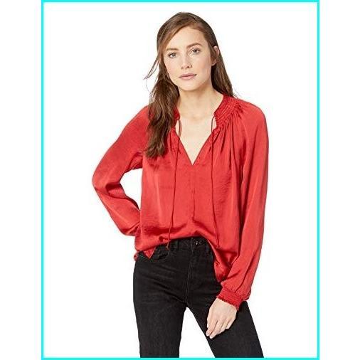 【メーカー再生品】 Lucky Brand SHIRT レディース Lucky US サイズ: Large Brand カラー: SHIRT レッド, ミナミウオヌマシ:f2950865 --- sonpurmela.online