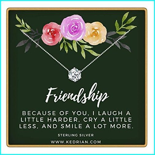 最終決算 KEDRIAN Friendship Necklace, 925 Sterling Silver, Best Friend Necklaces, Friendship Gifts for Women, Bestfriend Birthday Gift, Friend Gifts, Gifts For, ネットでレンタル 花庵 d1505b94