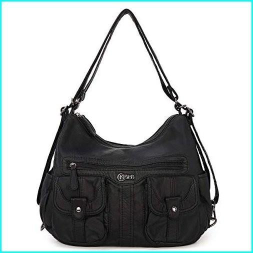 大人の上質  Handbags for Women Leather Top-Handle Hobo Satchel Crossbody Shoulder Bag Satchels Hobo Handbags Leather Crossbody Purse, Kunio Collection:7c240a51 --- sonpurmela.online